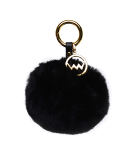 Trendy Black Pom Gold